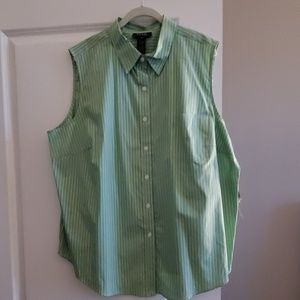 NWT Ralph Lauren Sleevless Blouse
